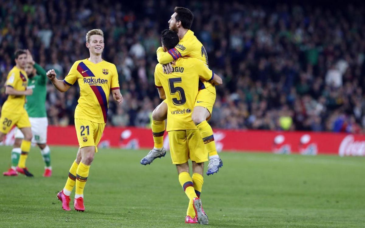 Hat-trick de asistencias de Messi