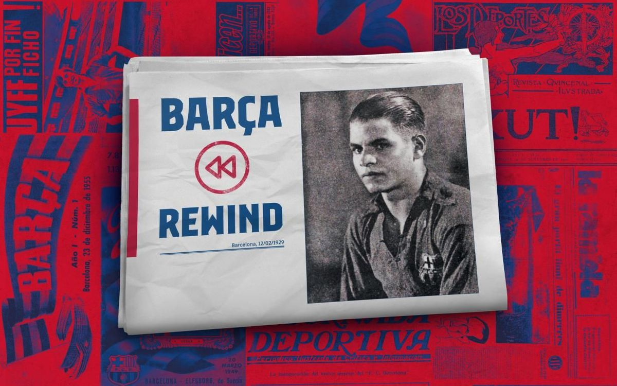 Barça Rewind: First ever goal in La Liga