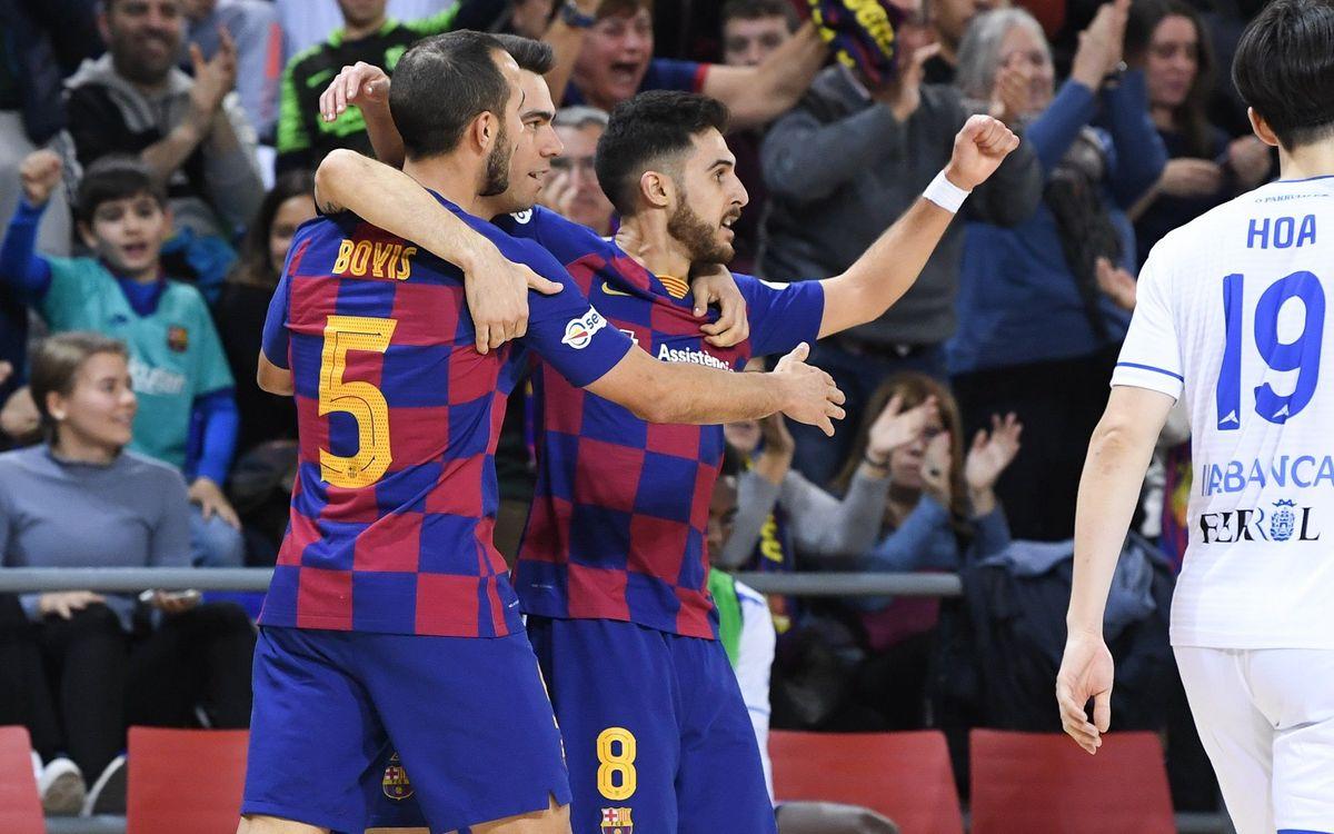 El Barça-Burela de Copa, en directe al lloc web del Barça