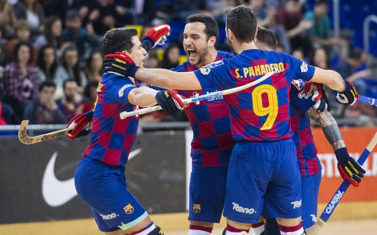 Barça - Deportivo Liceo: Líderes indiscutibles (9-3)