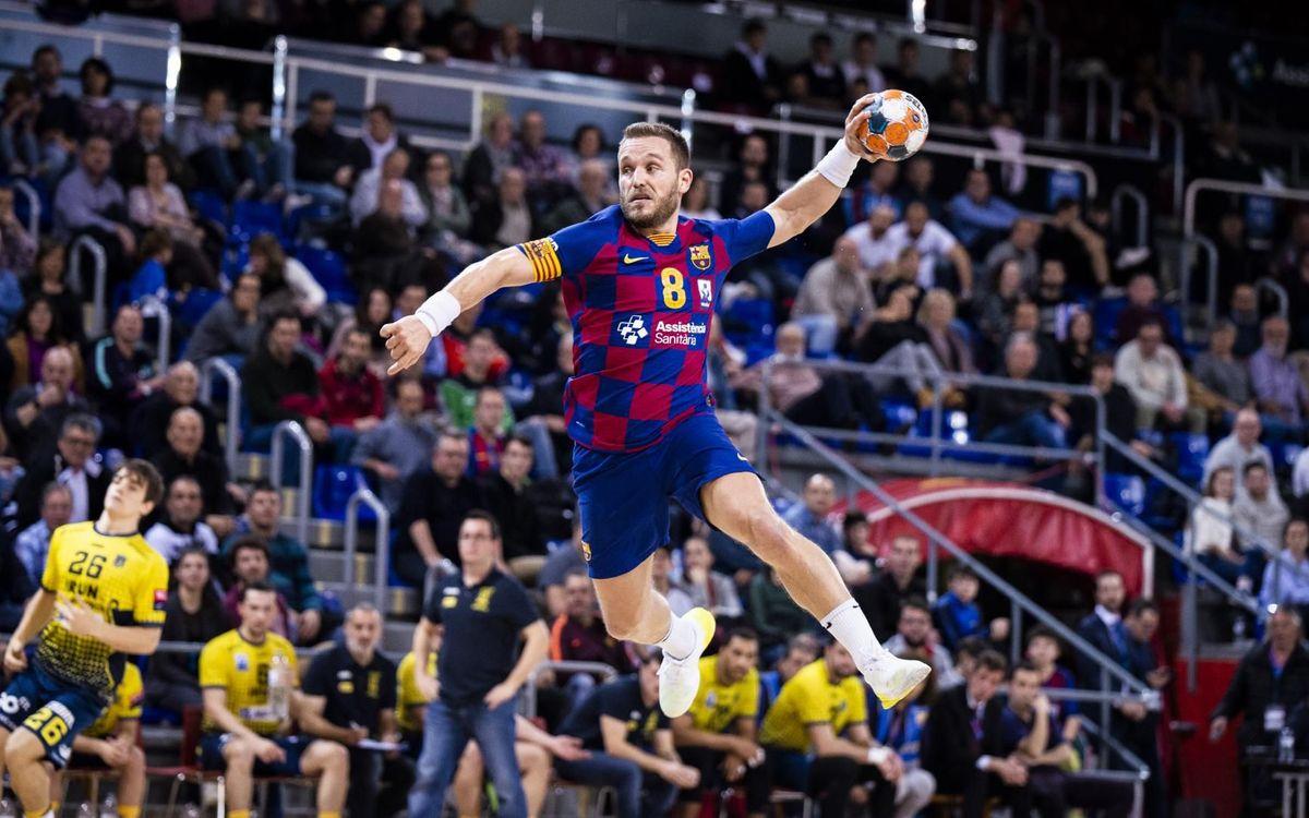 Barça – Bidasoa Irún: Retorn feliç al Palau (33-25)