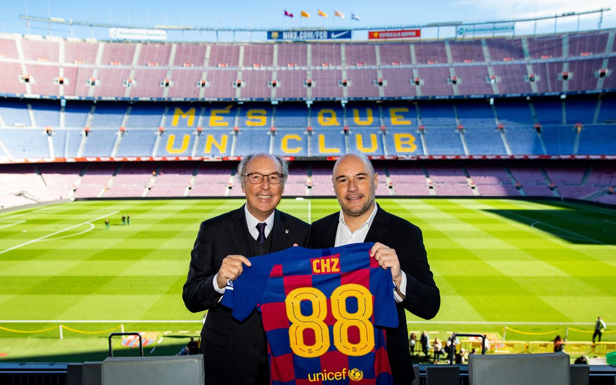 Barça and blockchain platform Chiliz join forces for new global alliance to increase interaction with fans