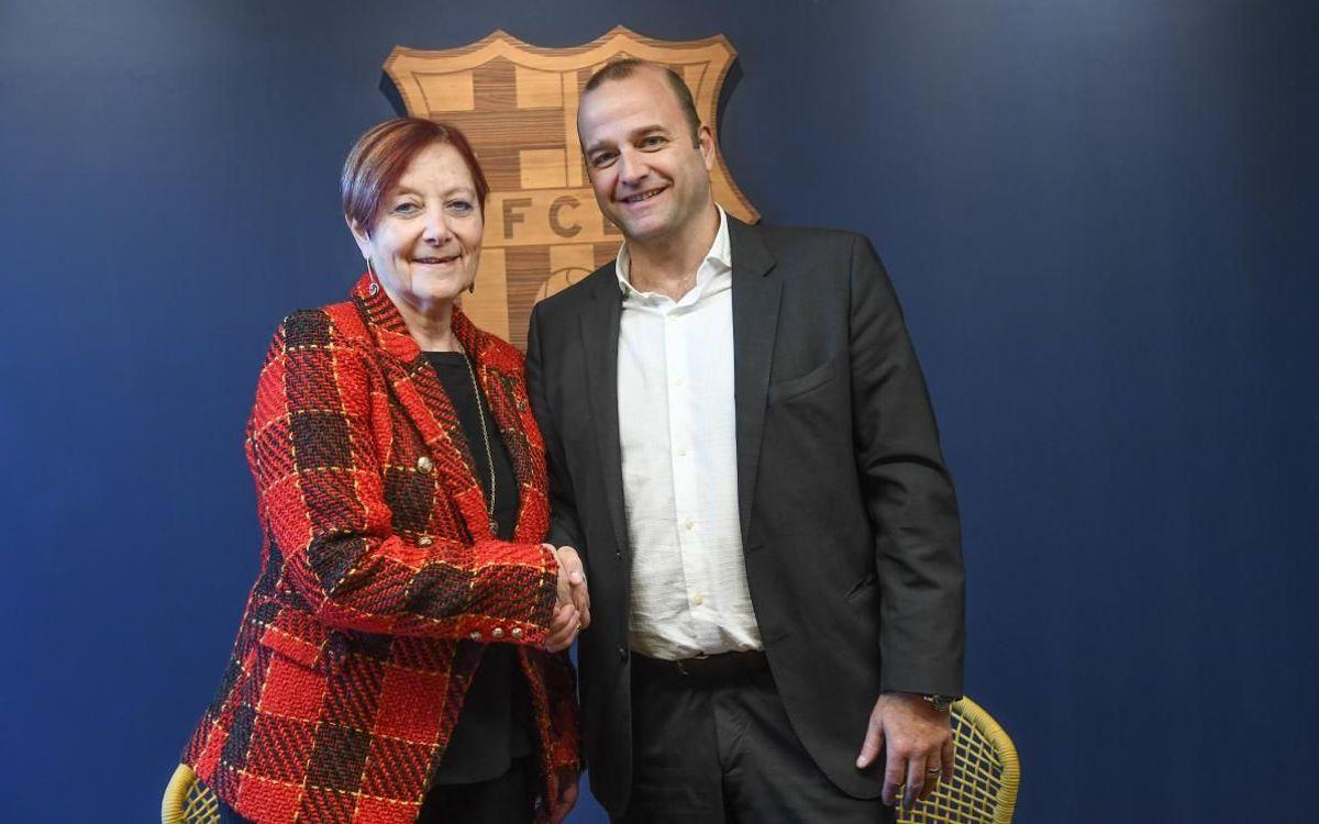 El FC Barcelona amplia l'aliança de col·laboració amb la Universitat Autònoma de Barcelona (UAB)