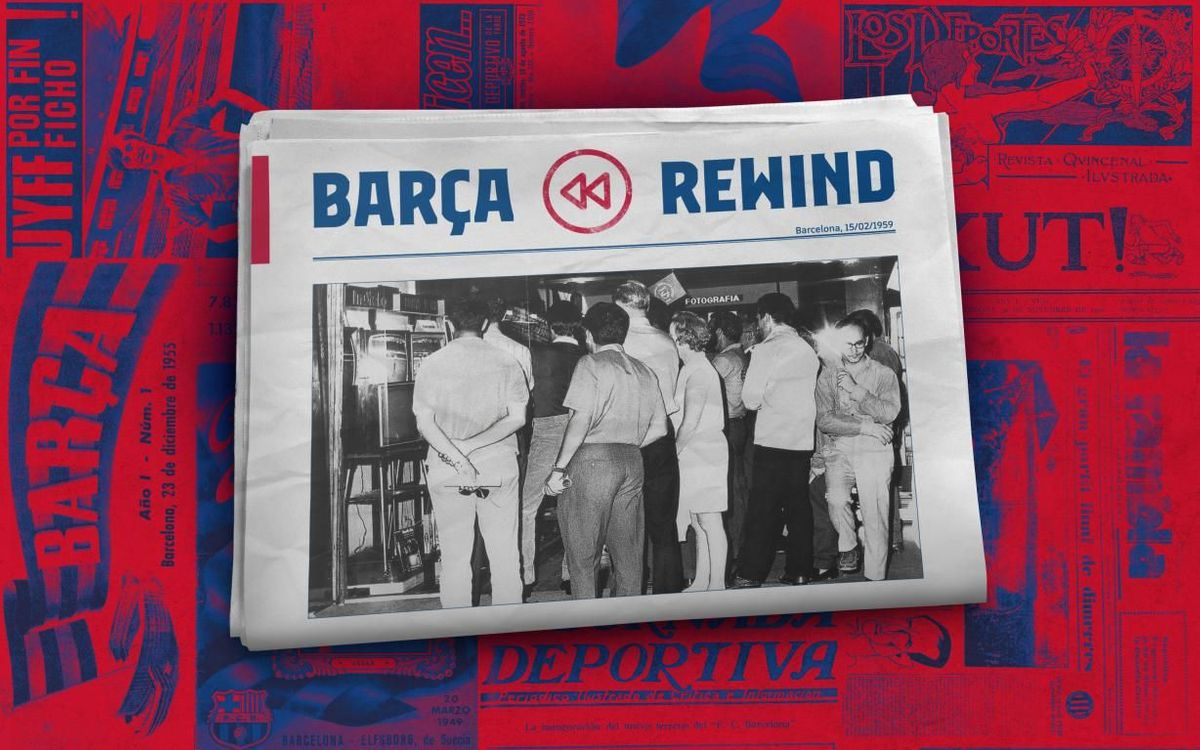 Barça Rewind: Barça live on TV for the first time