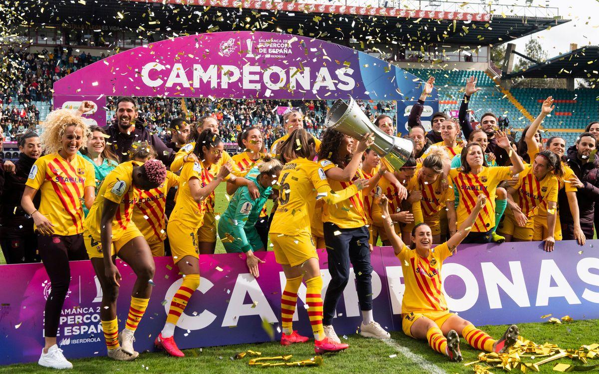 Diumenge, oferiment de la Supercopa a l'afició