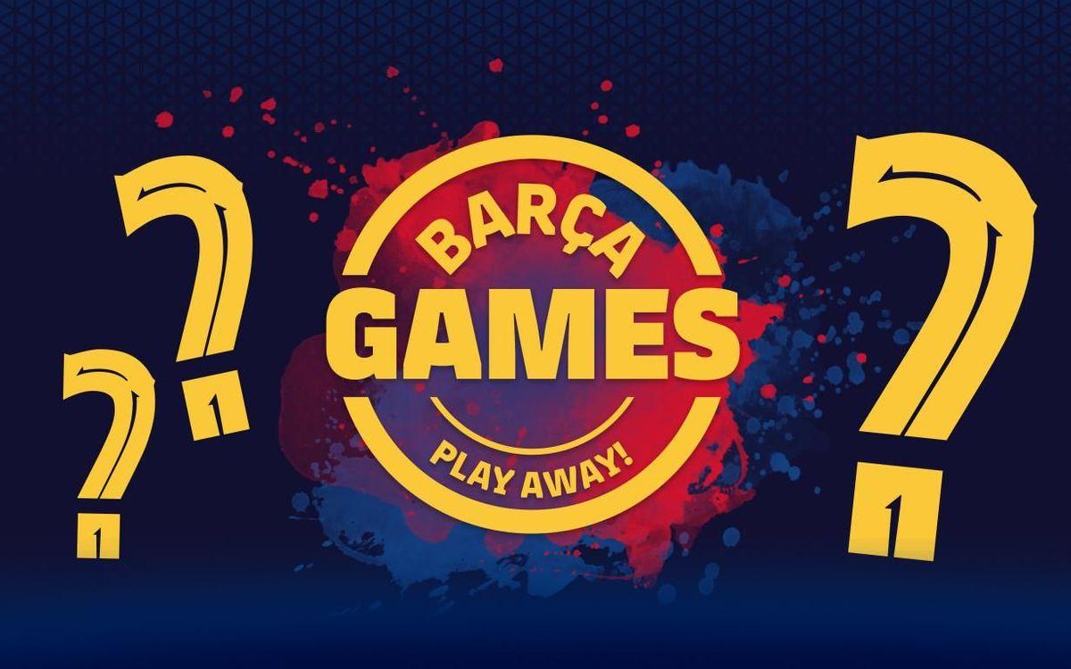 Los juegos del Barça