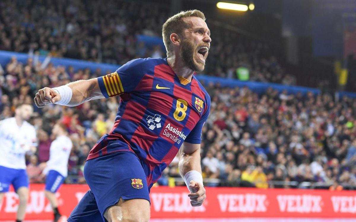 Barça-PPD Zagreb: Un partido redondo (32-23)