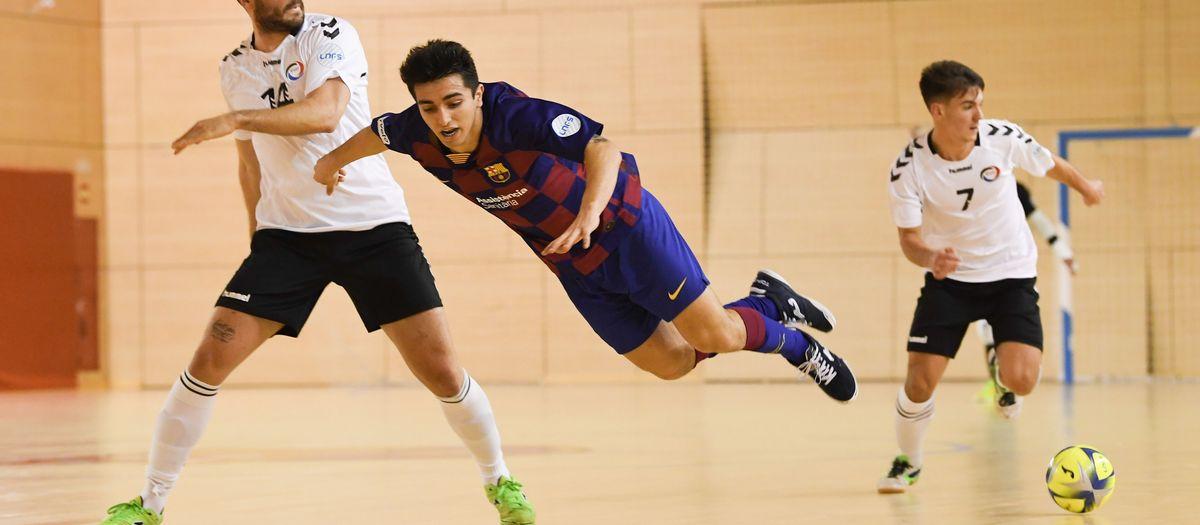 Barça B – Rivas Futsal (5-0): En línia ascendent