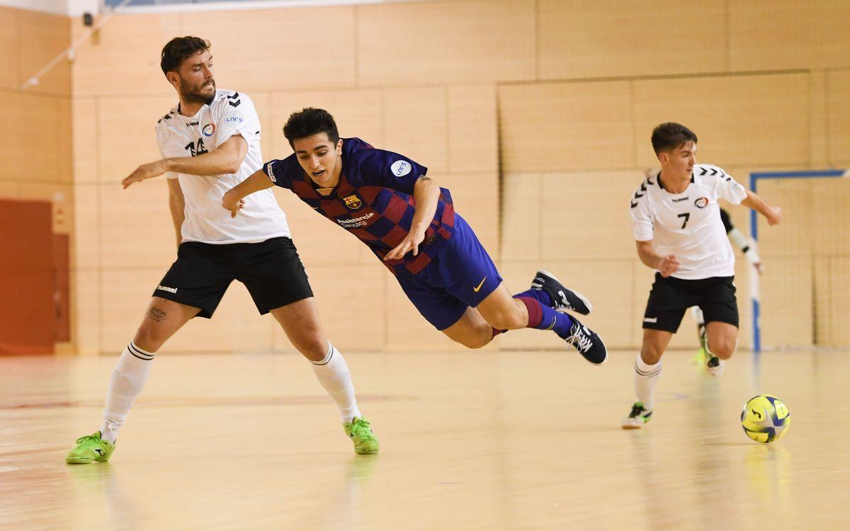 Barça B – Rivas Futsal (5-0): En línea ascendente