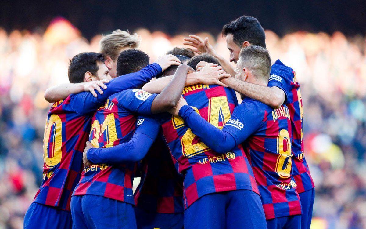 Barça - Getafe: Triunfo vital en el Camp Nou (2-1)