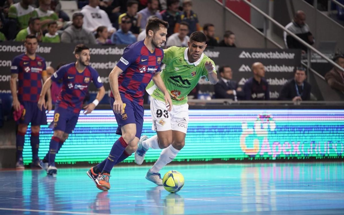 Palma Futsal 1-1 Barça: All square