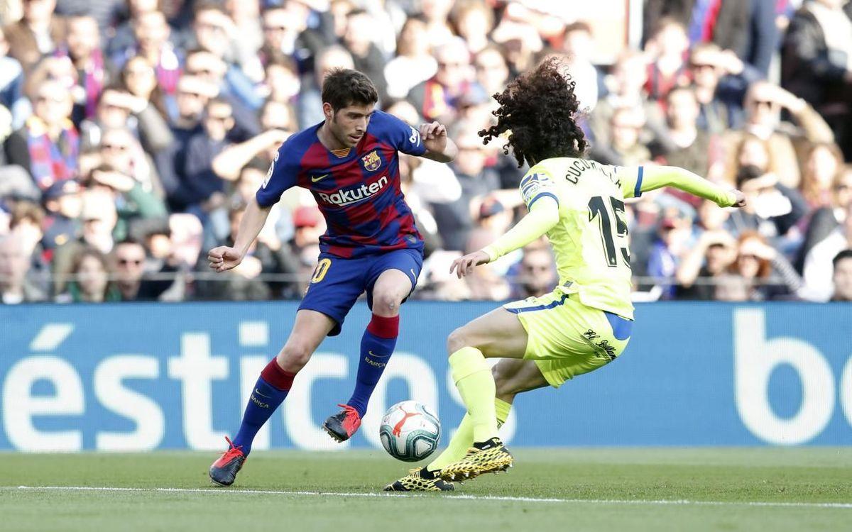 Los datos que debes conocer del Barça - Getafe