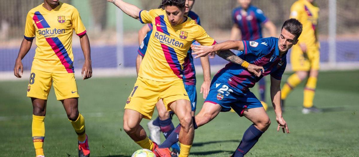 Atlético Levante - Barça B: Reacción de oro (1-2)