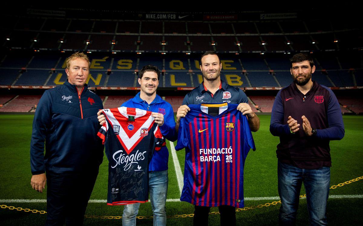 El Barça se convierte en un modelo para el Sydney Roosters