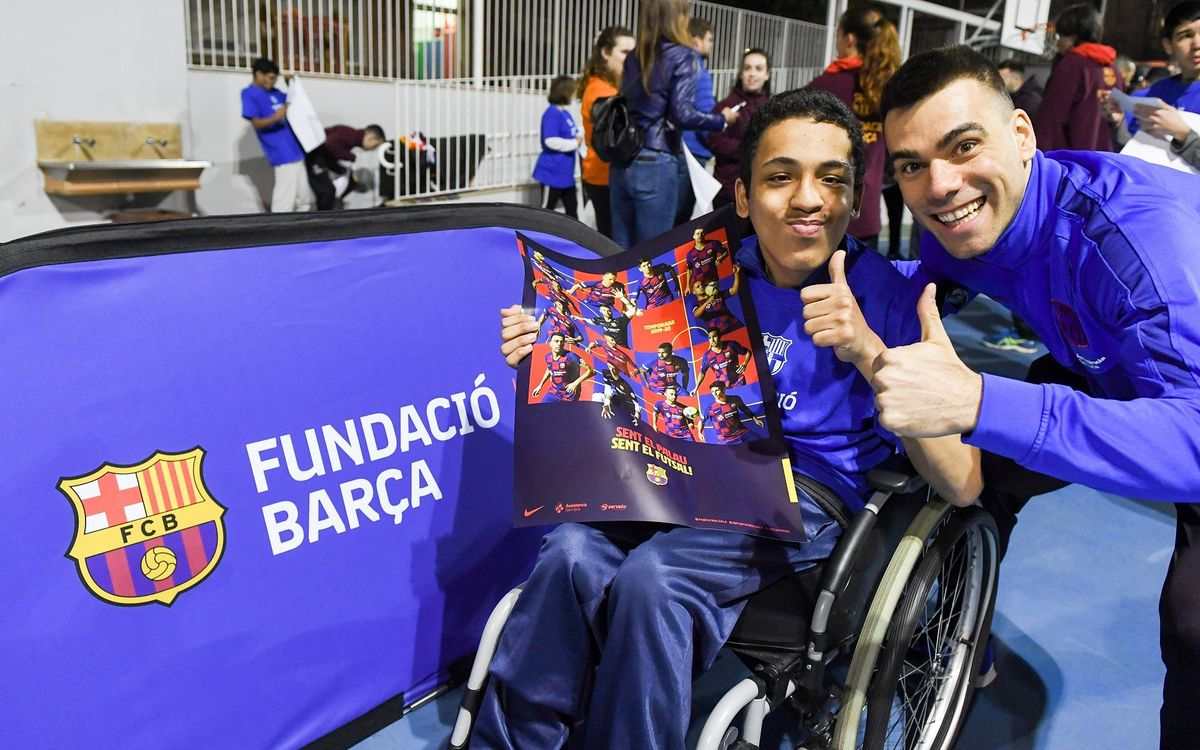 Futsal solidari: compra la teva entrada o fes el teu donatiu