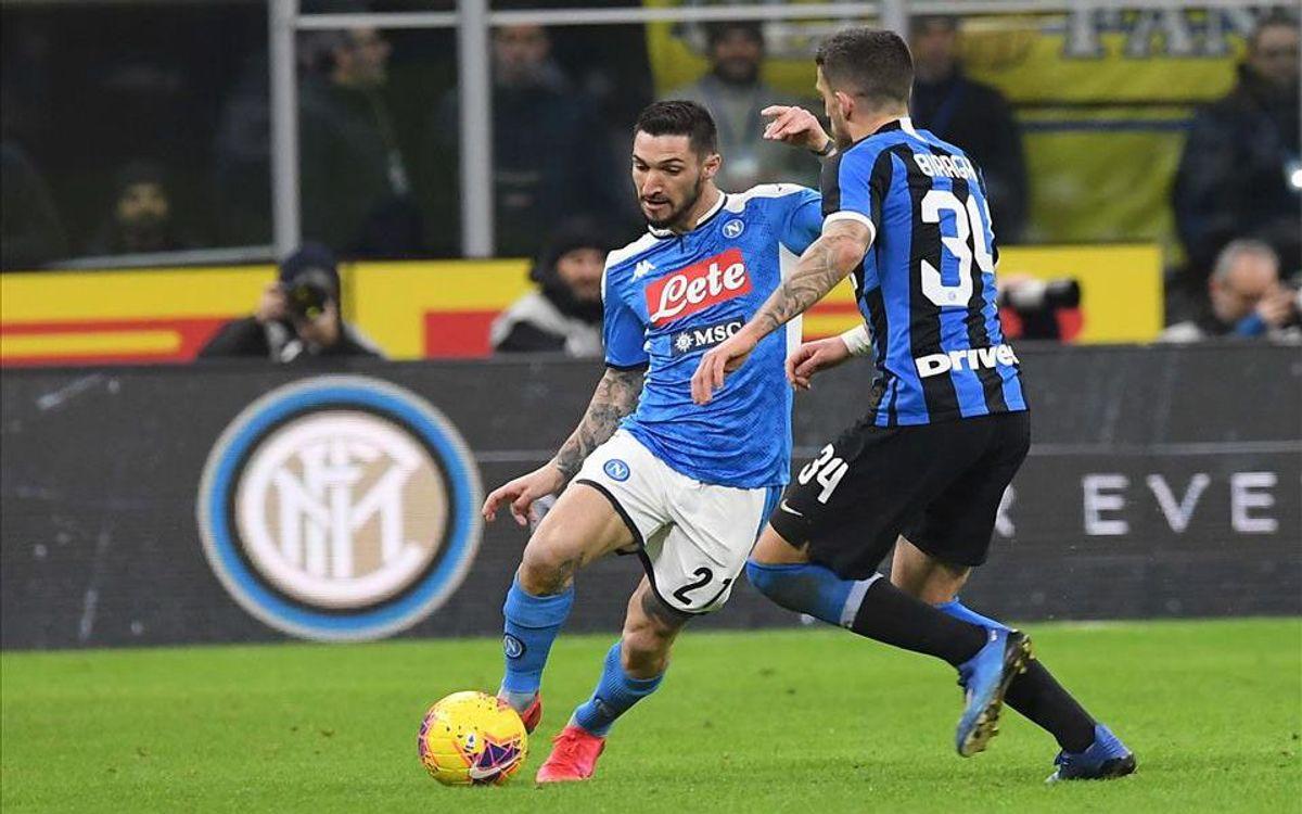 Politano contra Inter