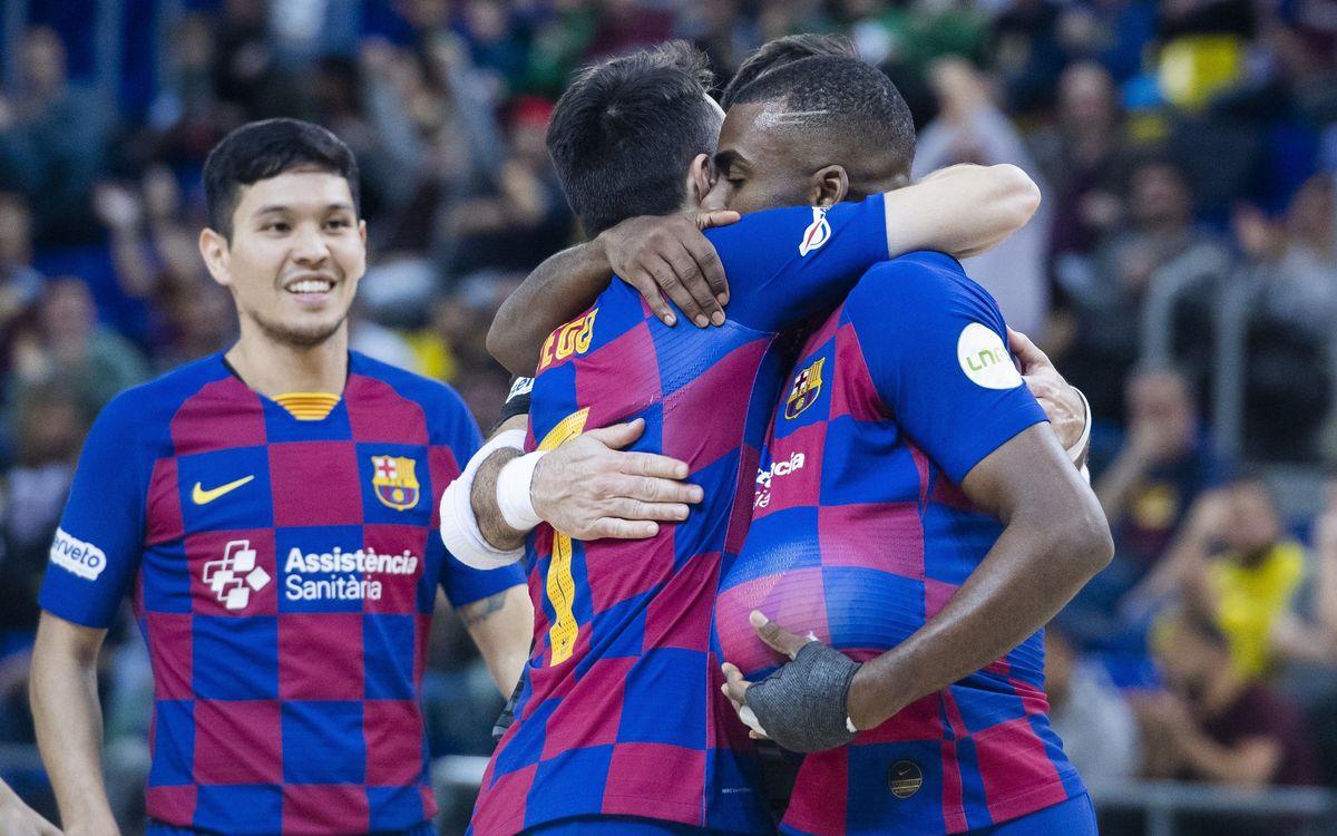 Barça 6-1 Aspil: Still unbeaten in 2020