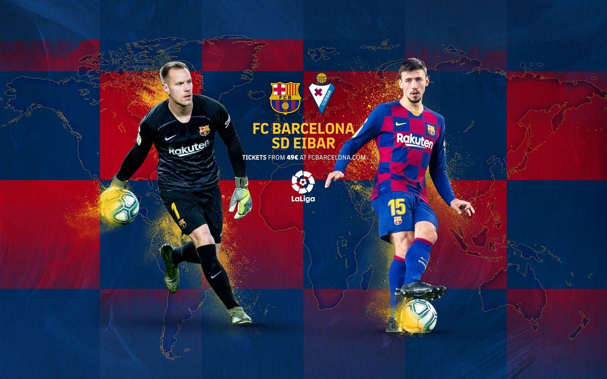 When and where to watch Barça v Eibar
