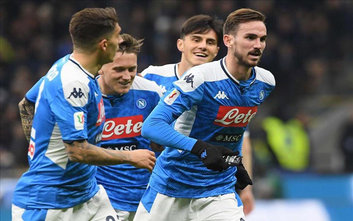 Fabian contra Inter Coppa