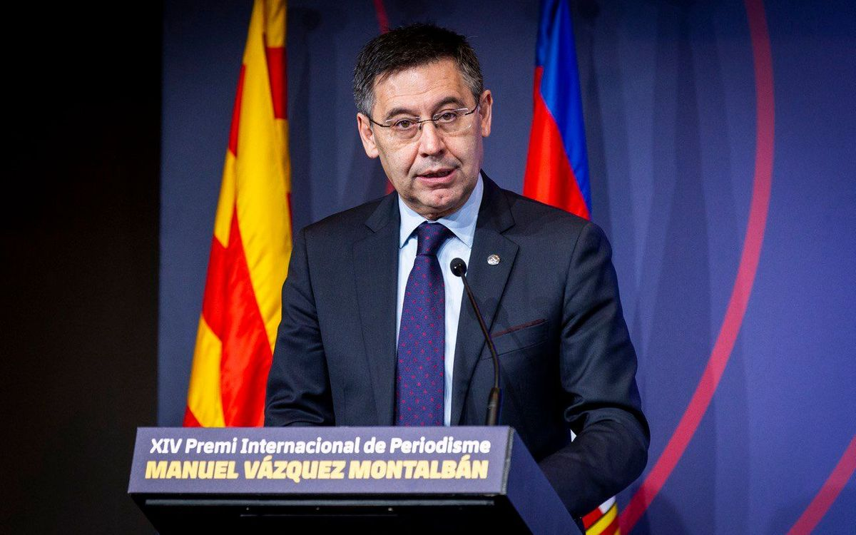 Bartomeu denies Barça 'has contracted any kind of service to disparage anyone'