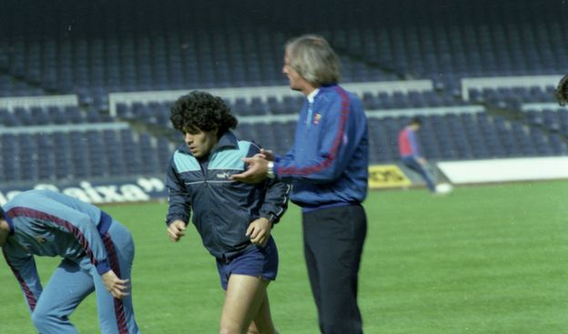 EN PROFUNDIDAD: Los años de Maradona en el Barça