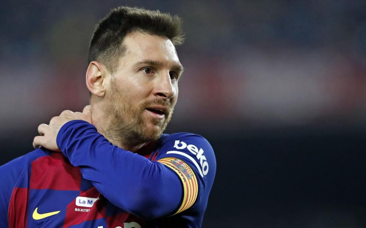 Leo Messi My Idea Is To Stay At Barca