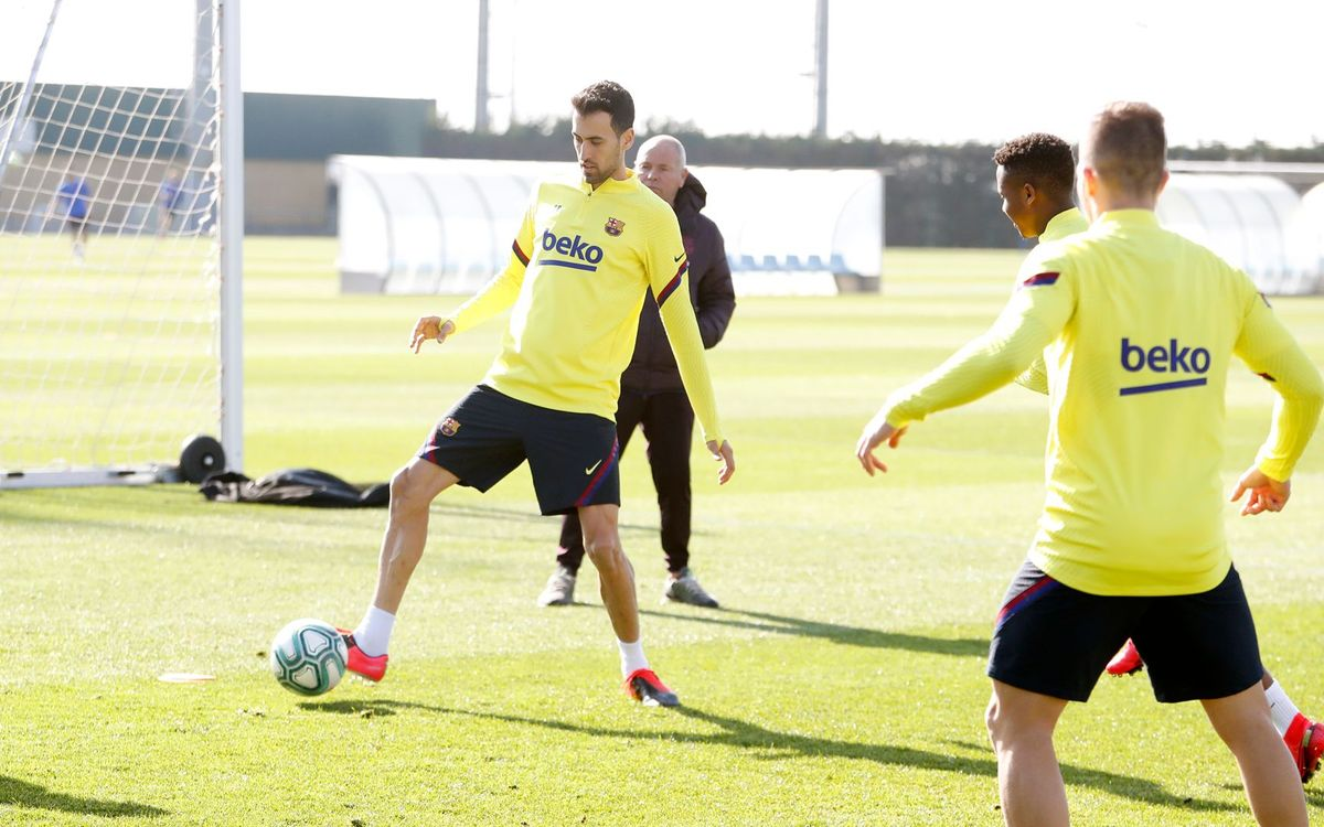 Preparations continue for the game against Eibar