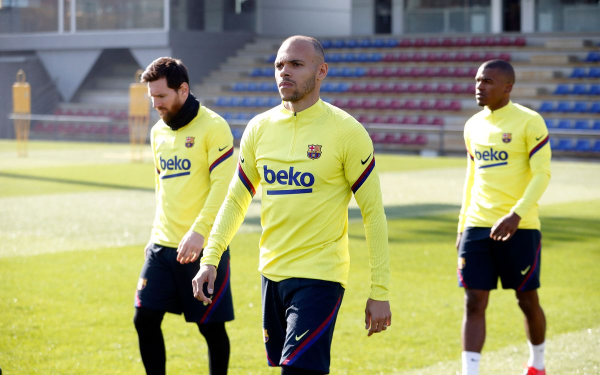 Braithwaite, principale nouveauté dans le groupe du Barça convoqué pour la réception de Eibar