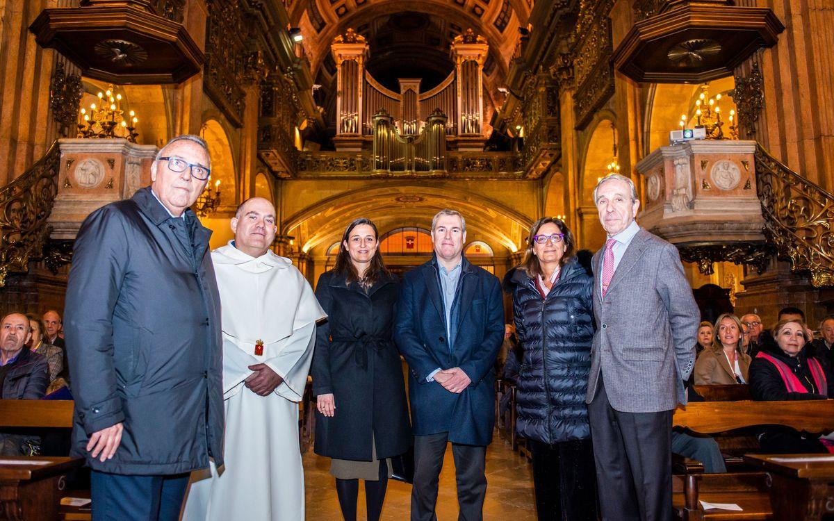 Concert d'Orgue a la Basílica de la Mercè per als senadors blaugrana
