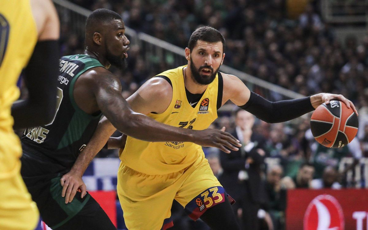 Panathinaikos 81–92 Barça: Great European night!