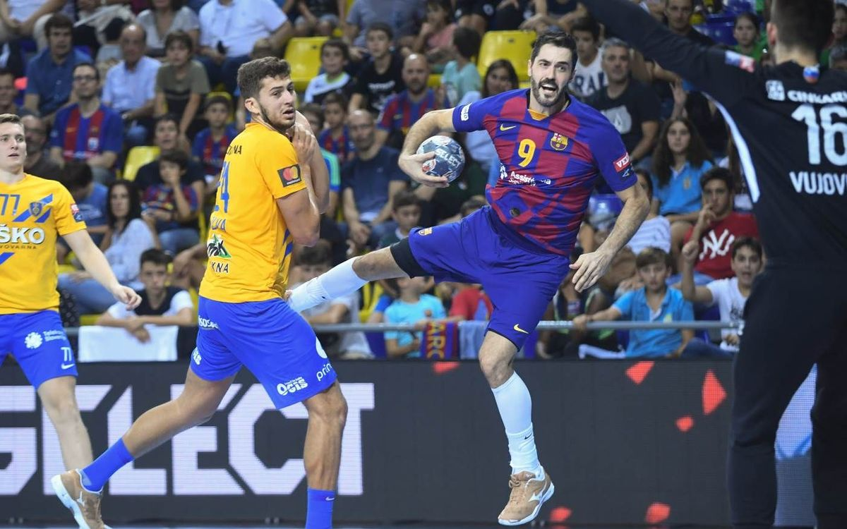 RK Celje Pivovarna Lasko – Barça: Com més aviat millor