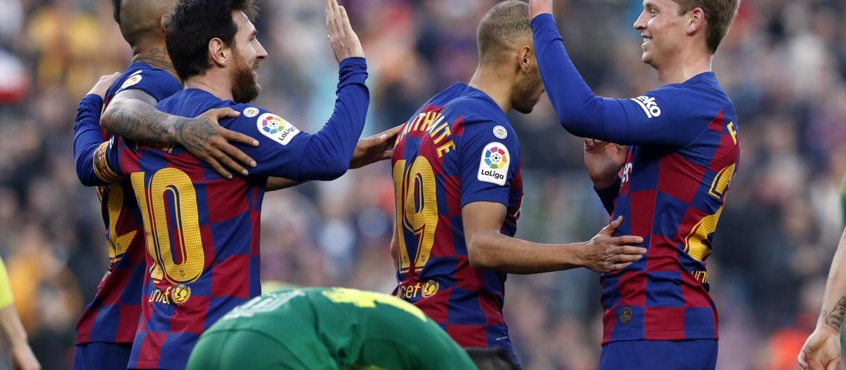 Barça top the table ahead of El Clásico