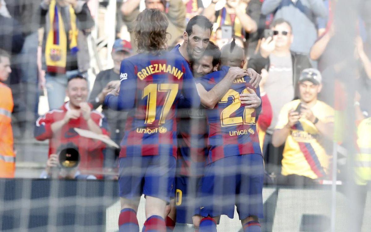 El FC Barcelona, l'equip més golejador a la història de la Lliga... 57 anys després!