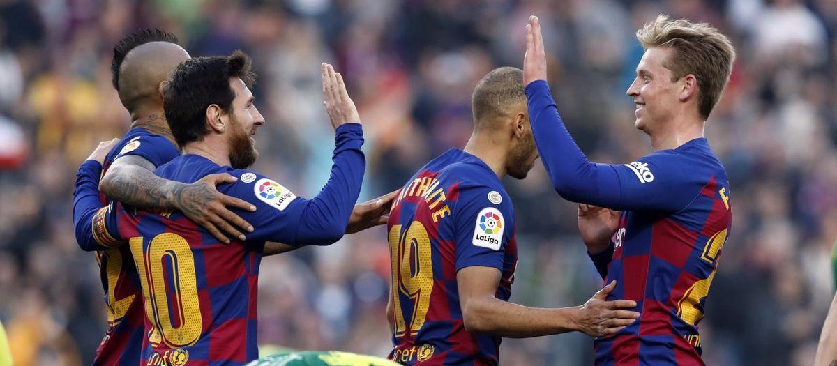 El Barça arribarà al Clàssic com a líder