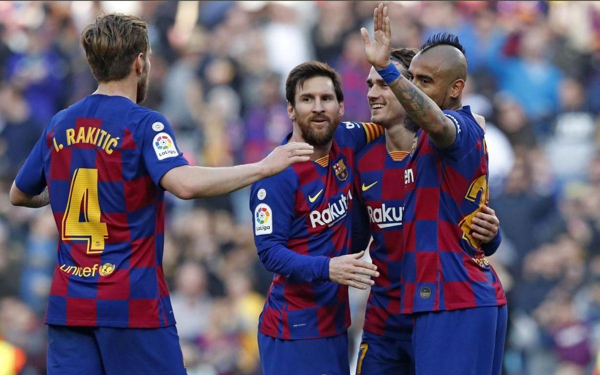 Barça - Eibar: Un Messi sublime brilla en el Camp Nou (5-0)