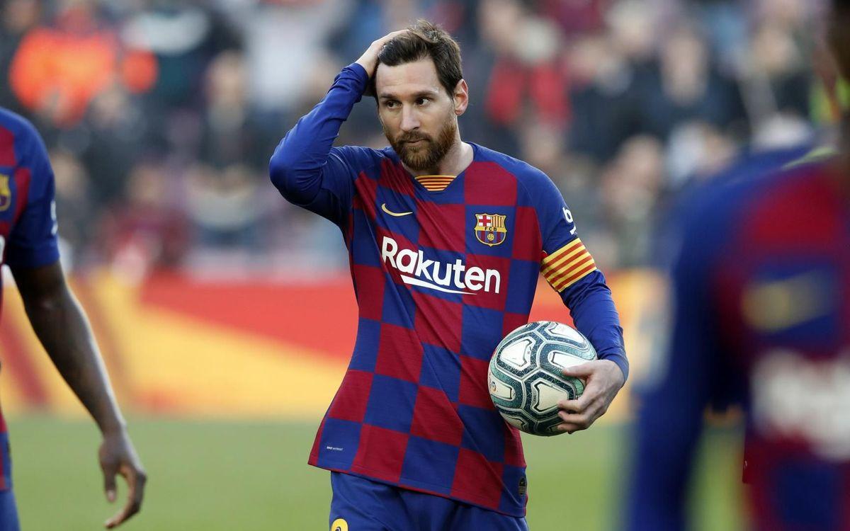 Messi, MVP de LaLiga al febrer