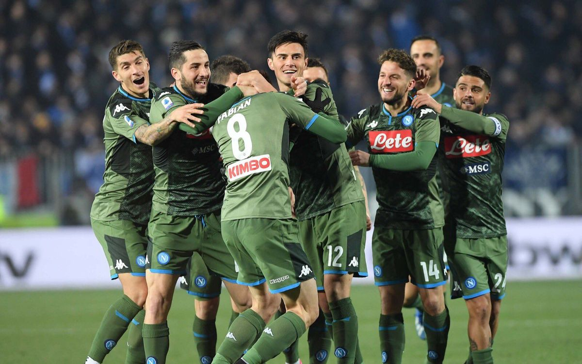 Napoli's comeback win before facing Barça