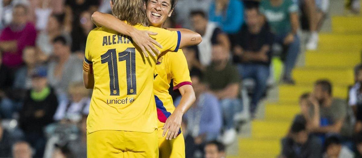 Logronyo - Barça Femení: Triomf de prestigi a Las Gaunas (0-6)