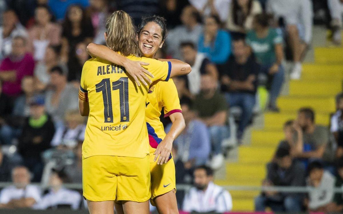 Logroño 0-6 Barça Women: A super six!