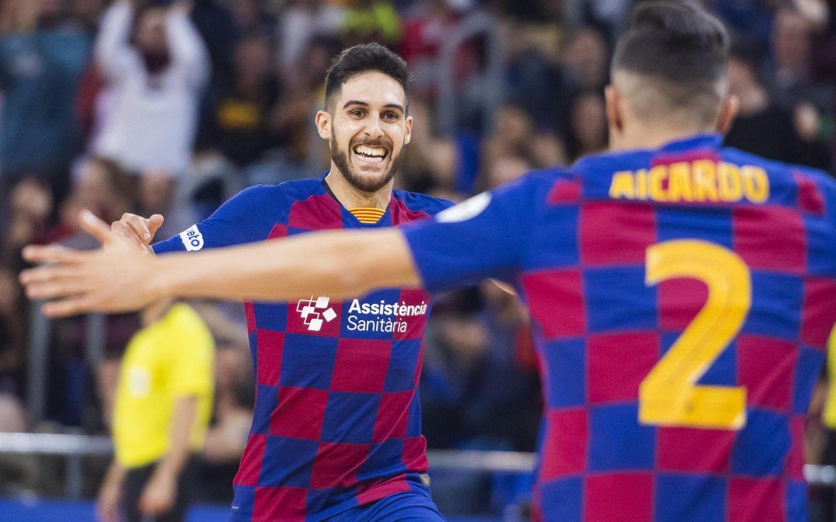 Barça-Còrdova: Una golejada treballada (6-2)