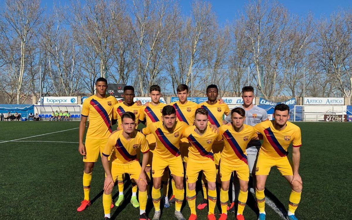 CD Ebro-Juvenil A: En ratxa (1-3)