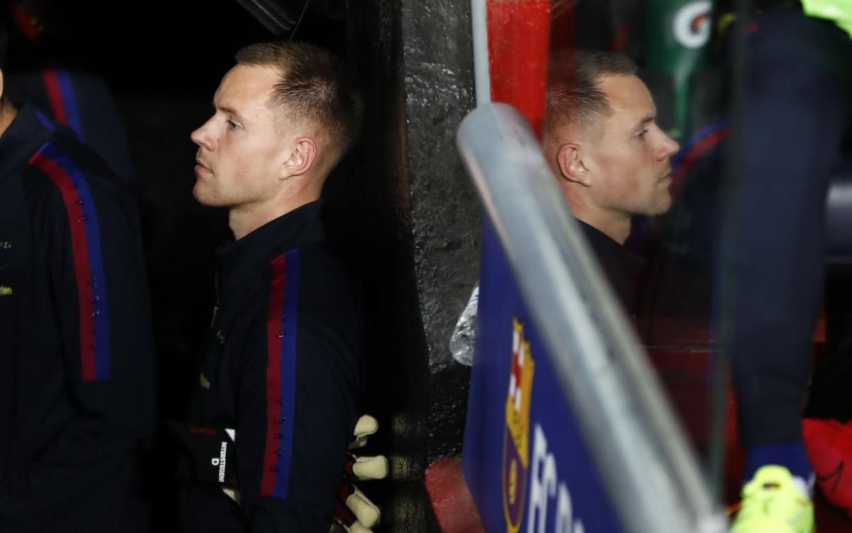 Ter Stegen looks ahead to Napoli and beyond