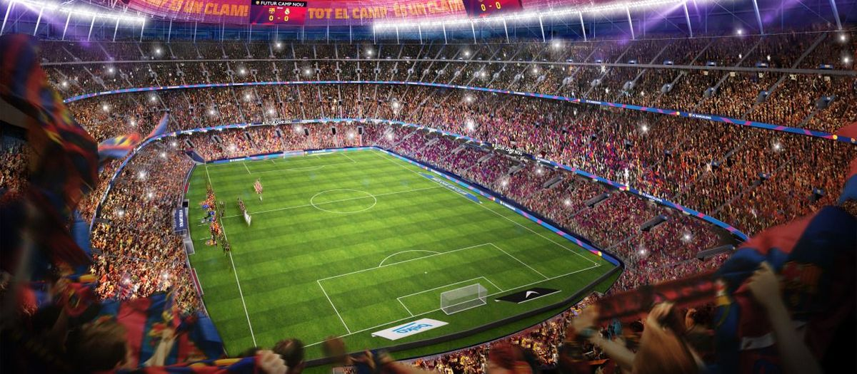 The 15 reasons why the remodeling of the Camp Nou is necessary