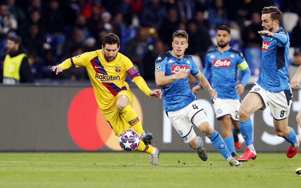 Napoli, unbeaten as an away side in Europe