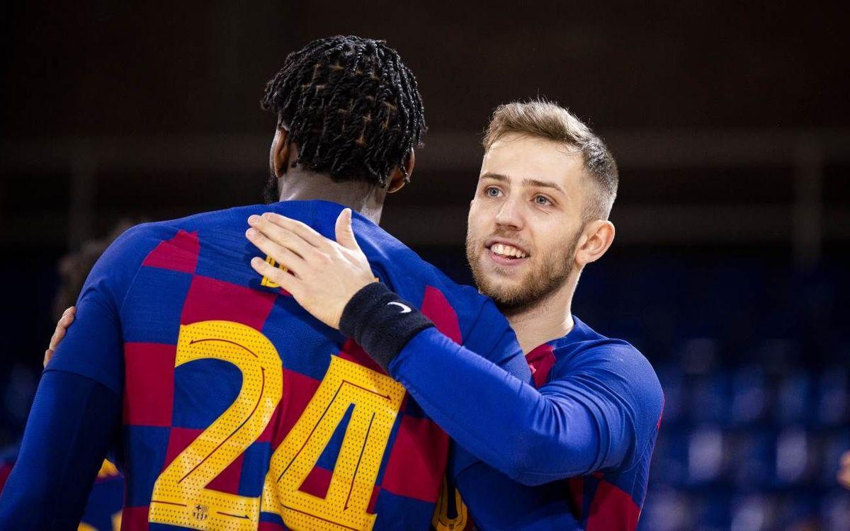Barça – Recoletas Atl. Valladolid: Cambio de chip inmediato
