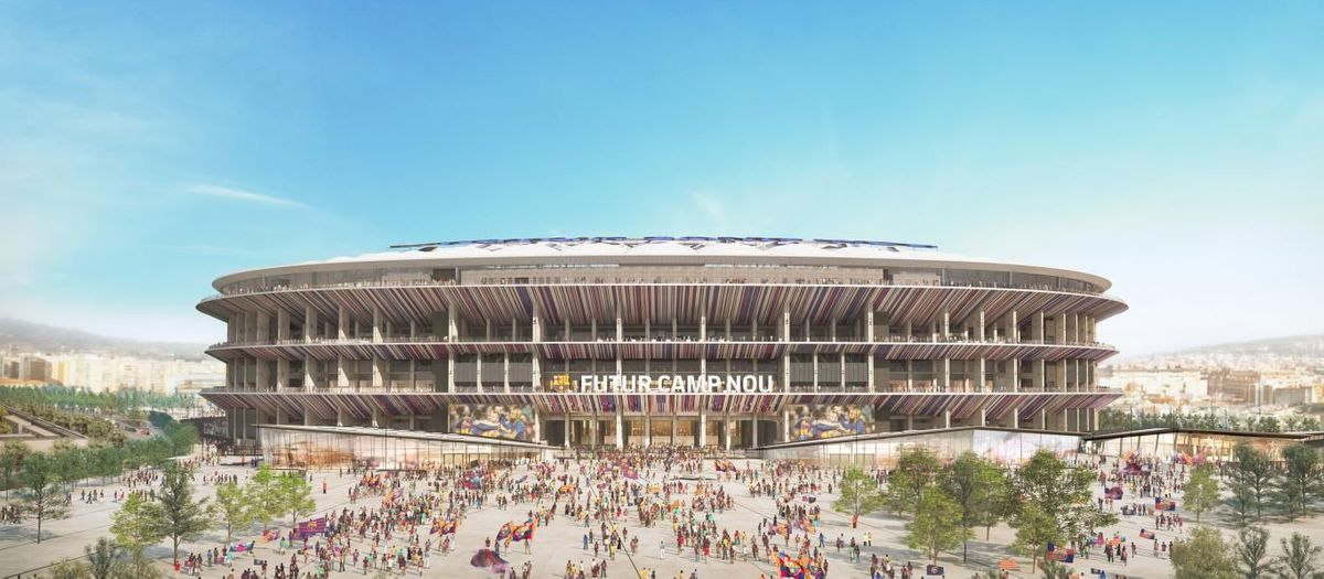 What will the future Camp Nou be like?