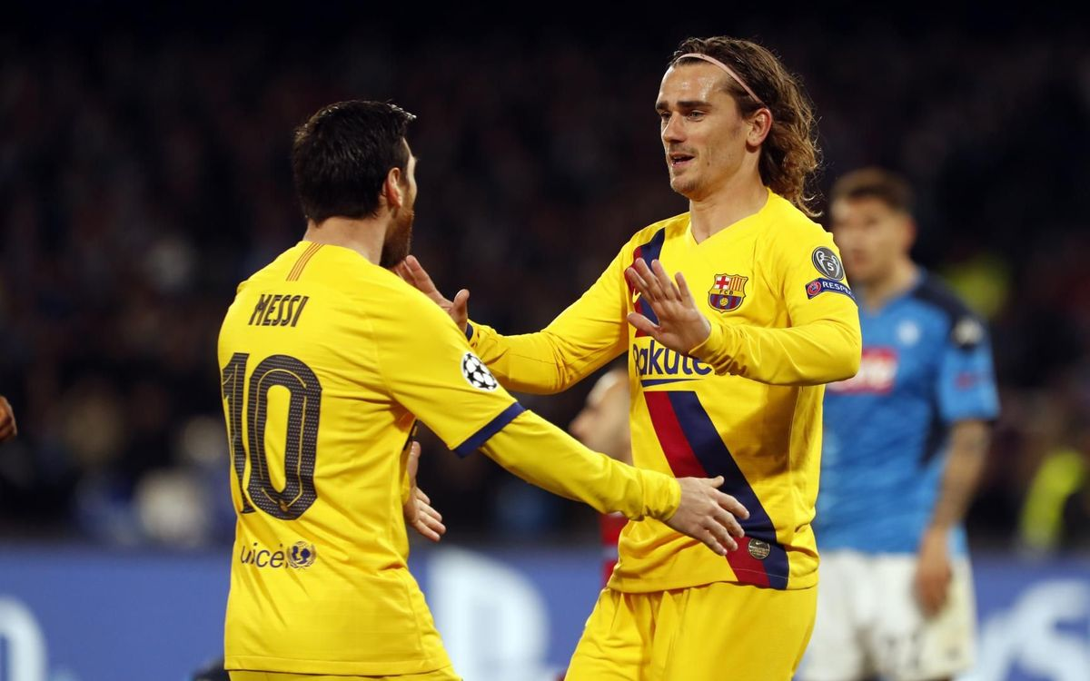 Griezmann opens the door for Barça