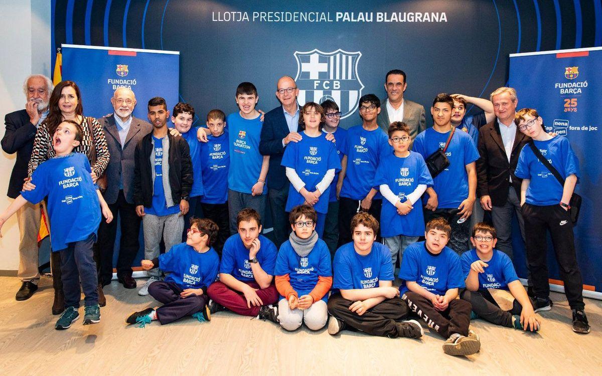 La Llotja Presidencial del Palau Blaugrana al Barça - Corinthians