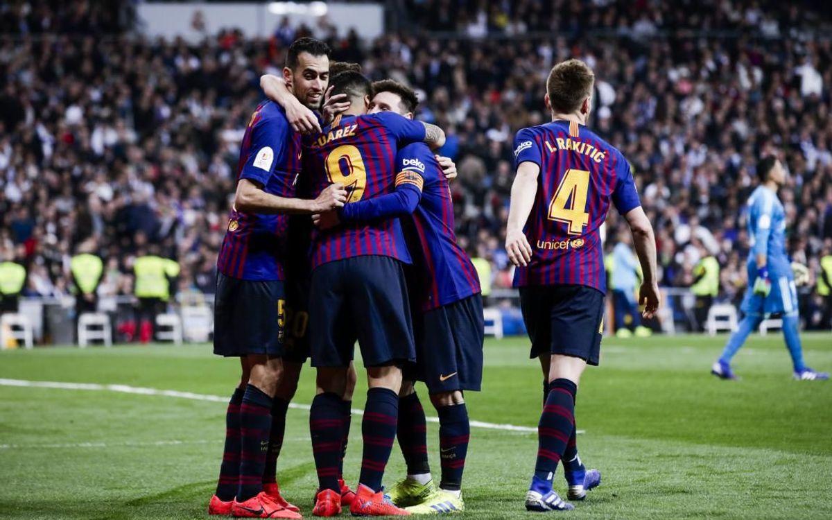 Se cumple un año del 0-3 de Copa en el Bernabéu