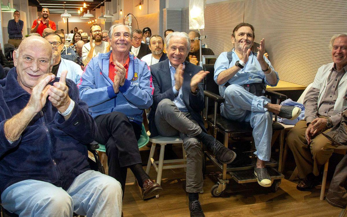 El Tribuna Barça celebra una nova edició a l'Hospital Clínic